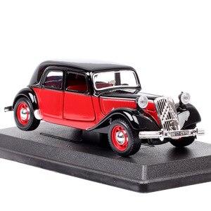 Bburago 1/24 весы классические citroen TA 15CV тяга Avant 1938 автомобили Diecasts и игрушки модели автомобилей миниатюрные авто для детей