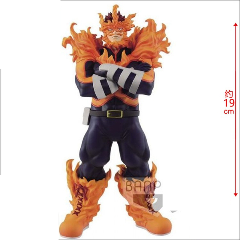 Original My Hero Academia Age Of Heros AOH Endeavor Figure Action Figure Figurals Model Dolls Brinquedos