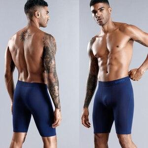 Image 3 - Underwear Men Brand 3pcs Long Boxers Man Boxer Shorts Mens Underpants Mens Panties Underware Cotton Boxershorts Plus Size 7xl
