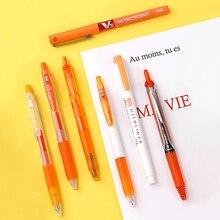 قلم جيل ماركة يابانية تركيبات مختلفة 0.5/0.38 مللي متر ملاحظات الطلاب تركيبة ألوان خاصة
