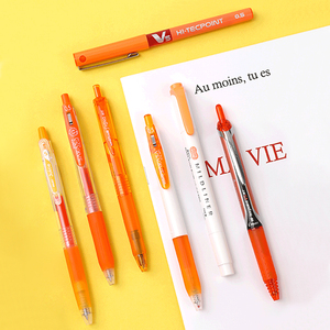 Image 1 - Japanese brand Gel pen Highlighter Various combinations 0.5/0.38mm Student notes special color combination