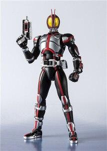 Image 2 - Shf Masked Rider Faiz 20 Kamen Rider Kicks Ver. Bjd Action Figure Model Speelgoed