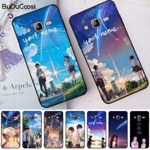 Hrmes seu nome filme anime caso de telefone de luxo para samsung galaxy j7 j6 j8 j4 j4plus j7 duo j7neo j2 j7 prime