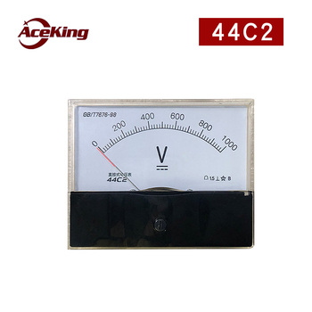 44c2 DC 1000V voltmeter DC high voltage voltmeter through 1kV direct voltmeter 1000V фото