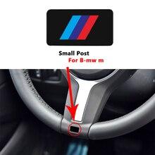 Стикер на руль автомобиля, модная наклейка на руль для BMW M E34, E36, E60, E90, E46, E39, E70, F10, F20, F30, X5, X6, X1, M3, M5, M6, E71, F01, F02, F87, 10 шт.