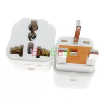 (20 PCS) UK Singapore Malaysia HK Electrical Plug Adapter Universal Outlet 13A Fused AC100~250V