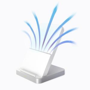 Image 5 - Original Xiao Mi Wireless Charger 30W Safe USB A C 45 วัตต์สำหรับ Mi 10 9 Pro (30 W) qi EPP ใช้งานร่วมกับอุปกรณ์ 5 W 10 W