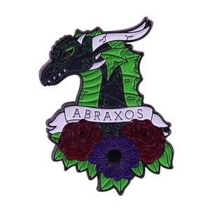 Abraxos трон из стекла Bookish отворот Pin Sarah J. Великолепная коллекция фанатов Maas
