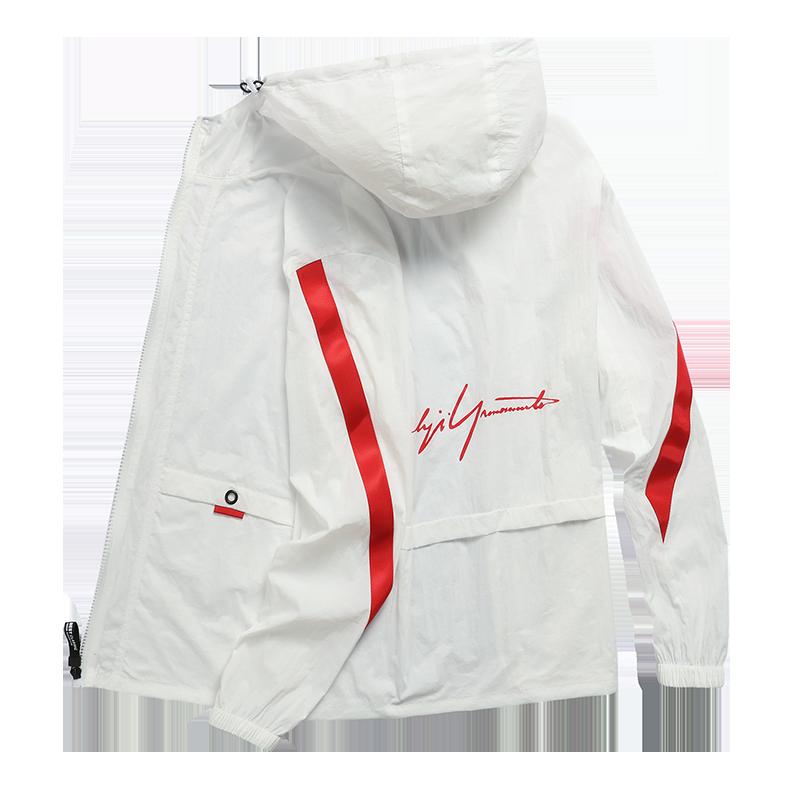 New Spring Summer Men's Quick Sunscreen Dry Skin Jackets Men Windbreaker Fashion Thin Hooded Coat Outwear Male Jacket M-4XL