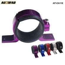 Aluminum Single Fuel Pump Bracket/Fuel Filter Bracket 60 MM 044 BRACKET For Honda Civic EK 99-00 AF-CA118-BK