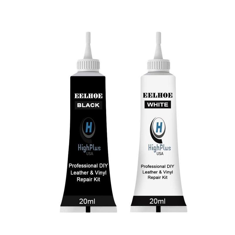 Gel de reparación de cuero avanzado, pasta de reparación de Color complementario para asiento de coche, 20ml, sin daños químicos para el hogar