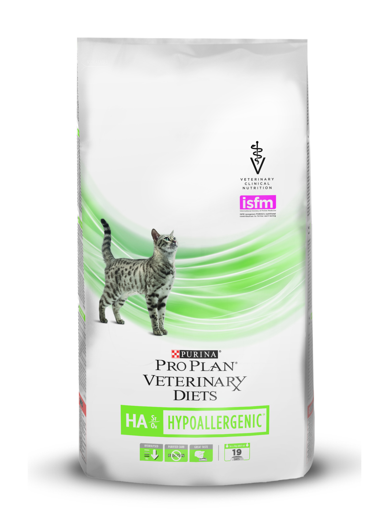 Pro Plan Veterinary Diets HA Hypoallergenic cat food in the treatment of food allergy, 1,3 kg image