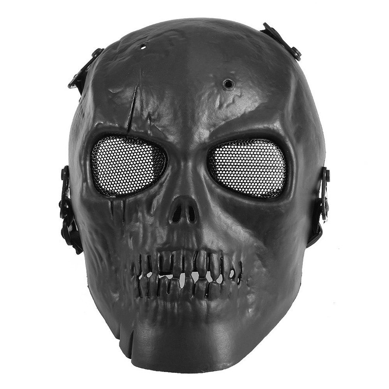 Army Of Two Airsoft Paintball Mask Skull Full Face Protective Mask Black Hunting Military Wargame Tactical Masks