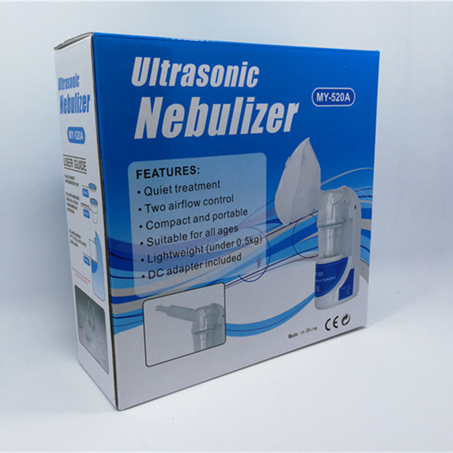 home health asthma nebulizer inhaler portable automizer children care inhaler nebulizer ultrasonic nebulizer with EU/US/UK Plug 5