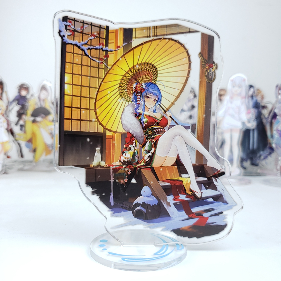 Japan Anime Azur Lane Cosplay Double Side Acrylic Stand Figure Model Plate Desk Decor