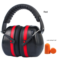 Noise Reduction Safety Ear Muffs  Shooters Hearing Protection Ear Muffs   Noise Canceling Headphones  Ear Defenders for Shooting   -