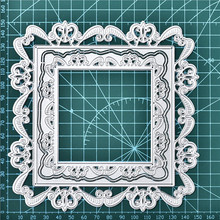 GJCrafts Frame Dies Lace Border Metal Cutting Scrapbooking Card Making Embossing Stencil Die Cut New 2019 Craft Decor