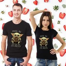 T-Shirt Cosplay-Costumes Boba King The Mandalorian Baby Yoda Star-Wars Lovely Gift Fett