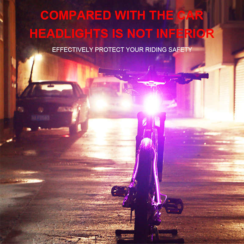 Bicycle Light  Led Usb Chargeable Mountain Bike Waterproof Riding Rear light  headlight Cycling Light Tail-lamp Bike Taillight