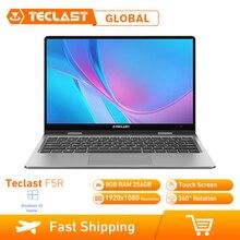 Teclast F5 11.6 Cal Laptop 360 ° Windows 10 OS Intel Gemini Lake N4100 czterordzeniowy procesor 1.1GHz 8GB RAM 256GB SSD ekran dotykowy HDMI