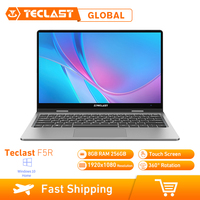 Teclast F5R Laptop 11.6 Inch Windows 10 OS Intel APOLLO LAKE N3450 Quad Core 1.1GHz CPU 8GB RAM 256GB SSD Touch Screen HDMI