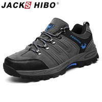 Jackshibo Men Hiking Upstream Shoes Boots Trekking Tourism Boots Camping Shoes Outdoor Mountain Climbing Sports Sneakers For Men|Hiking Shoes| |  -