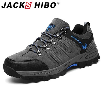 Jackshibo Men Hiking Upstream Shoes Boots Trekking Tourism Boots Camping Shoes Outdoor Mountain Climbing Sports Sneakers For Men naturalhome men water resistant boots sports hiking shoes outdoor athletic shoes mountain boots for hunting travel shoes boot