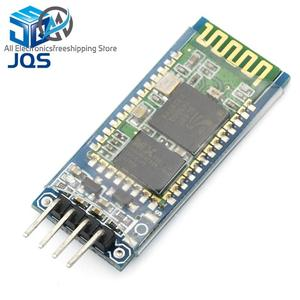 Беспроводной последовательный 4-контактный радиочастотный приемопередатчик HC06, RS232, TTL, модуль Bluetooth, подключаемый к arduino