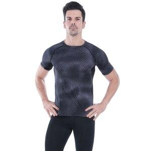 Image 2 - Acefancy nefes spor üstleri erkekler için T gömlek için elastik spor salonu absorbe ter T gömlek spor giysileri erkek 71601 spor erkekler