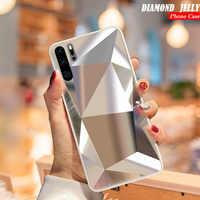Diamond 3D Mirror Case For Samsung Galaxy A71 A51 A70 A50 A30 A20 A9 A7 A6 2018 S20 Ultra S10E S9 S8 Plus Note 10 Glitter Cover