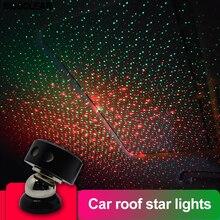 Светодиодный автомобильный светильник, авто интерьерный USB атмосферный свет, подключи и играй, декоративный светильник, аварийный светильник, автомобильные аксессуары, декоративная лампа