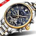 Herren Uhren Marke TEVISE Neue Luxus Automatische Uhr Männer Tourbillon Mechanische Uhr Sport Military Uhr Automatico Masculino