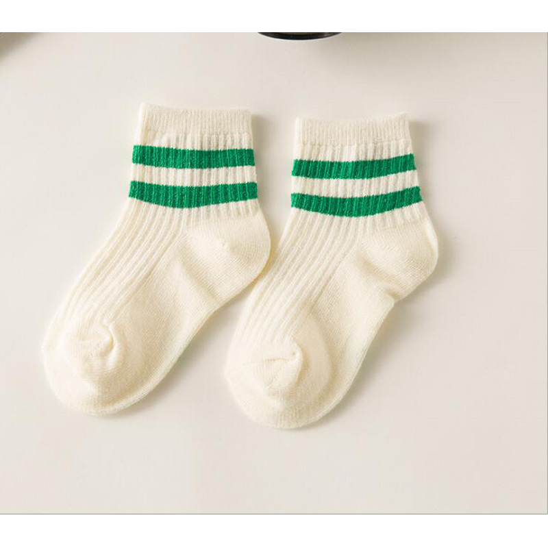 kids Socks  Cotton Boy's Girl's Lovely  striped style All-match Baby Children's Sock 1-10year 10pair=20pc=lot sales direct 3