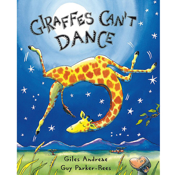 Giraffes Can't Dance By Giles Andrede English Stories Picture Card Book For Children Reading Kids Early Educational Learning - discount item  5% OFF Learning & Education