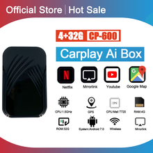 Carplay Ai Box Car Multimedia Player New Version 4+32G Android system Wireless Mirror link For Apple Carplay Android Auto Tv Box