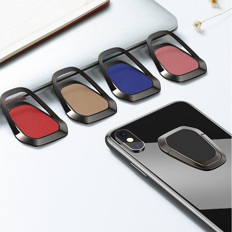 360 Degree Universal Finger Ring Holder For Samsung Huawei Desktop Mobile Phone Bracket Stand For Car Mount Magnet Holder