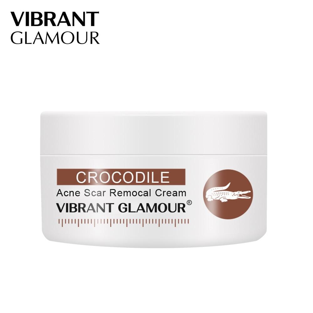 VIBRANT GLAMOUR Crocodile Repair Scar Anti - Aging Face Cream Moisturizing Removal Acne Scar Oil-Control Shrink Pores Skin Care