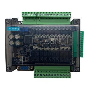Image 2 - LE3U FX3U 24MR 6AD 2DA عالية السرعة PLC لوحة تحكم الصناعية مع 485 الاتصالات و RTC بدون كابل