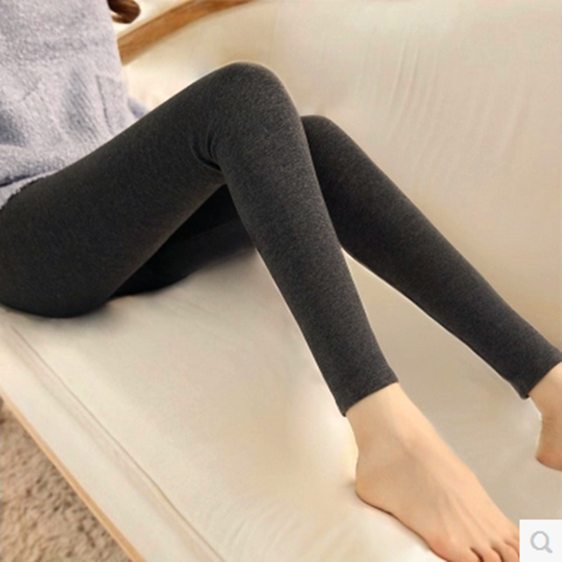 Women's Summer New Modal   Leggings   Women Wear Cotton Wild Feet Pants Girls Candy Color Slim Nine Pants