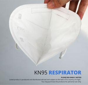 Image 3 - 10 قطعة 5 طبقات قناع السلامة تنفس قناع واقٍ الوجه KN95 أقنعة الفم الغبار قابلة لإعادة الاستخدام الشحن السريع