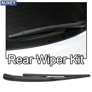 Xukey Rear Windshield Wiper Arm Blade Set Kit For Hyundai Santa Fe CM i40 Estate Accent MC H-1 Starex TQ For Kia Carens Rio 2