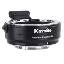 Commlite CM-EF-FX Electronic AF Lens Mount Adapter from Canon EF/EF-S Lens for Fujifilm FX-Mount Camera X-T20 X-T3 X-T2 X-Pro2(China)