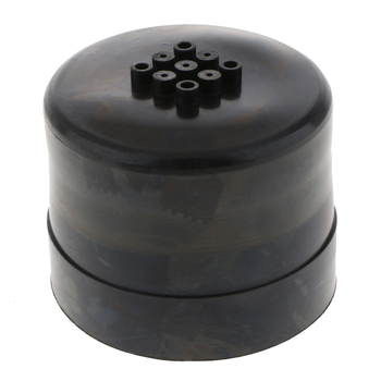 80X65mm Rubber Dustproof Housing For HID Conversion Kits, Aftermarket LED Headlamps image