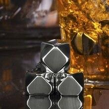 Геометрические кубики льда Пластиковые Многоразовые Замороженные камни физические охлаждающие инструменты вечерние леденцы для виски-бар