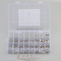 880Pcs/set DIN912 M2 M3 M4 M5 304 Stainless Steel Hexagon Socket Head Cap Screws Furniture Hex Bolts Assortment Kit