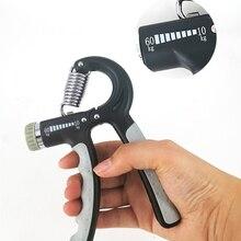 5-60 кг Регулируемый тяжелый захват фитнес тренажер для рук FatGrip запястье увеличение силы пружинный палец щепотка кистевой эспандер