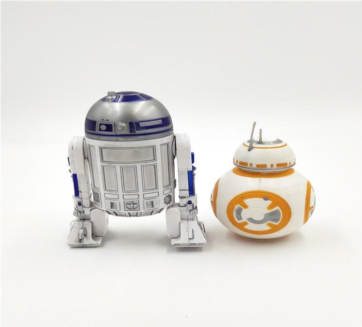 Lot of 2pcs Star Wars R2-D2 /& BB-8  Droid Action Figure Force Awakens Boy Toy