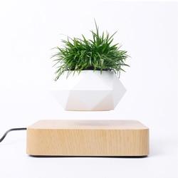 NIEUWE Magnetische ophanging bloempot Levitating Air Bonsai Pot plant pot succulent pot patio decoratie Desktop Bloem/Groene Plant