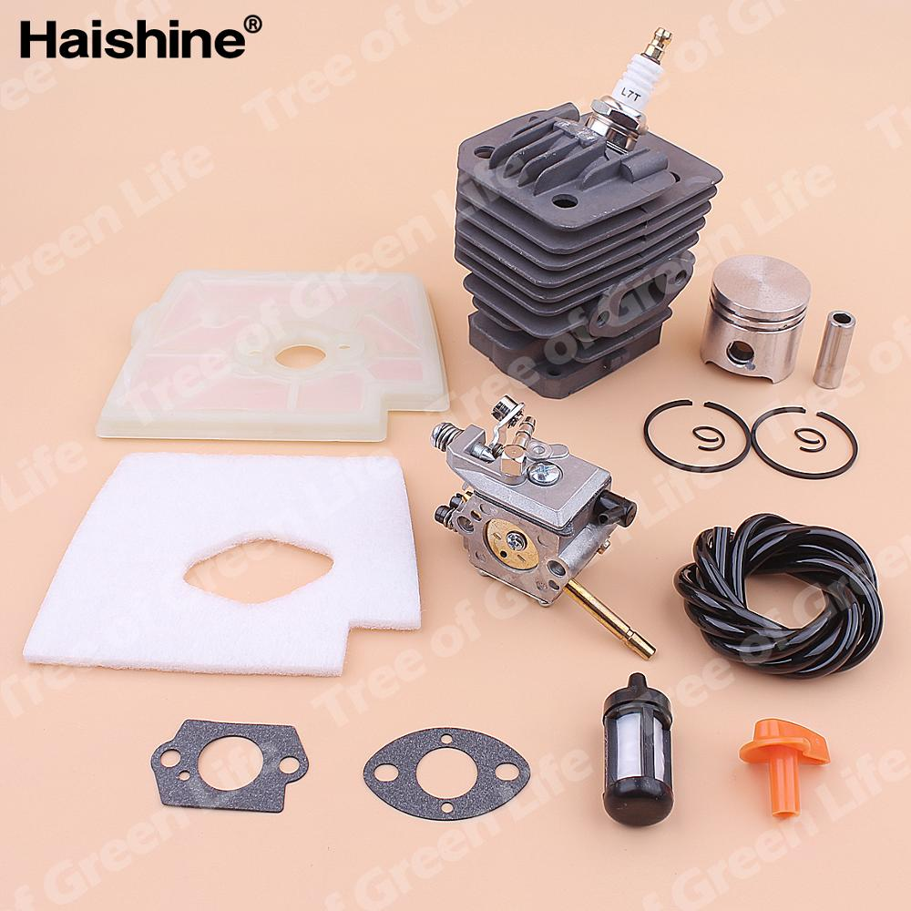 For Piston 35mm Filter Kit Gasket Fuel Air Stihl Carburetor Cylinder 160 FS Line Trimmer FS160 Spark Plug