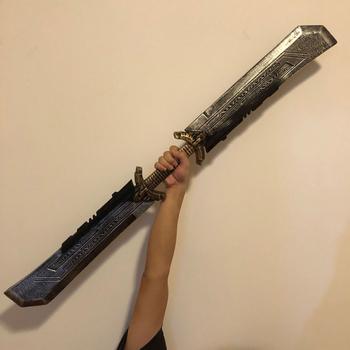 Thanos Endgame cosplay broń broń prop miecz miecz superbohater impreza z okazji Halloween tanie i dobre opinie Other CN (pochodzenie) 6 lat Unisex Diecast Kategoria miecz broń